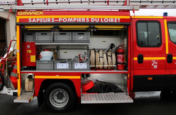 Sdis 45 - 2016: Présentation du VPI N°01 Loury-Rebréchien.