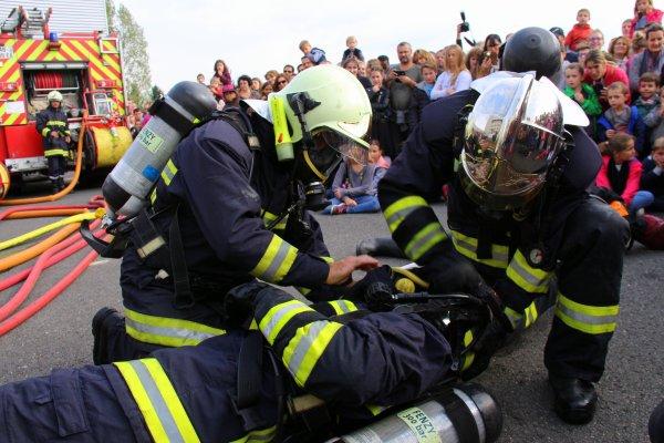 Sdis 45 - 2016: Jpo Csp Orléans Nord.