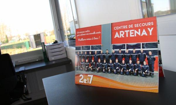 Sdis 45 - 2016: Cérémonie de Sainte Barbe Départementale.