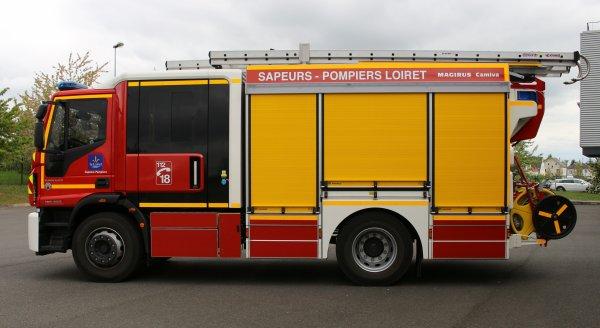 Sdis 45 - 2017: Présentation du FPT N°06 Orléans Nord.