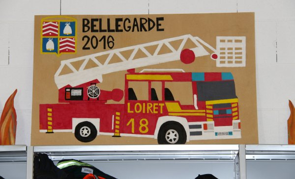 Sdis 45 - 2017: Jpo Bellegarde / Jpo Cléry St André.