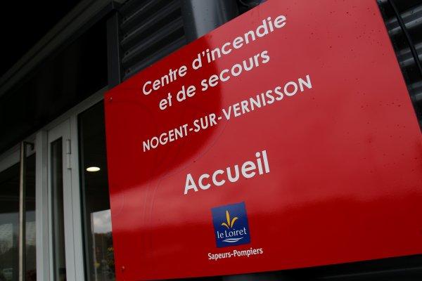 Sdis 45 - 2017: Inauguration du Nouveau Cs de Nogent sur vernisson.
