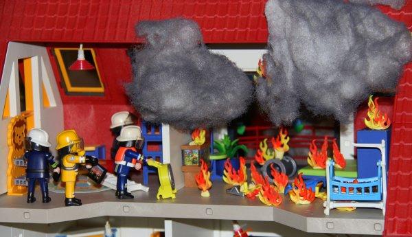 Exposition Playmobil.