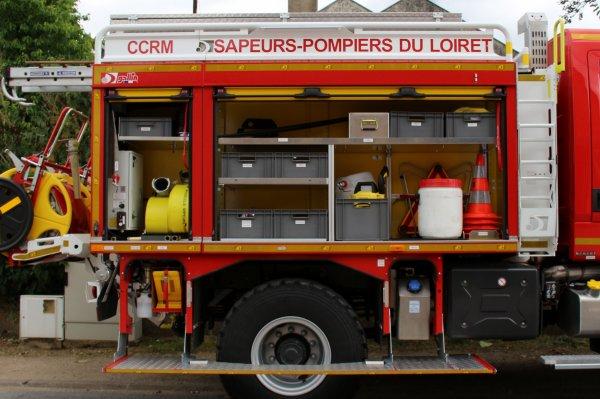Sdis 45 - 2018: Présentation du CCRM N°10 Saint Benoit sur Loire.
