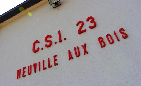 Sdis 45 - 2018: Cs Neuville aux Bois.