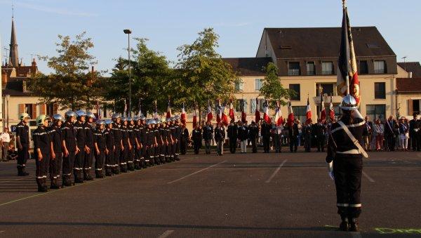 Sdis 45 - 2018: Défilé du 14 Juillet Montargis 2018.