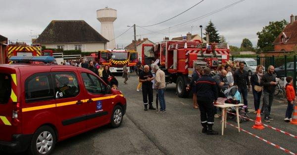 Sdis 45 - 2018: Journée Portes Ouvertes Cs La Ferté St Aubin.