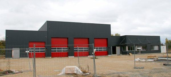 Travaux Sdis 45 - Futur centre Olivet - St Hilaire St Mesmin.