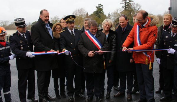 Sdis 45 - 2019: Inauguration du Cis Olivet - St Hilaire St Mesmin.
