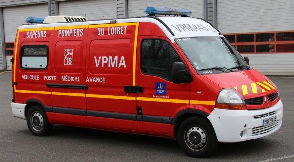 Sdis 45 - 2019: Présentation du V-PMA N°02 Orléans Sud.