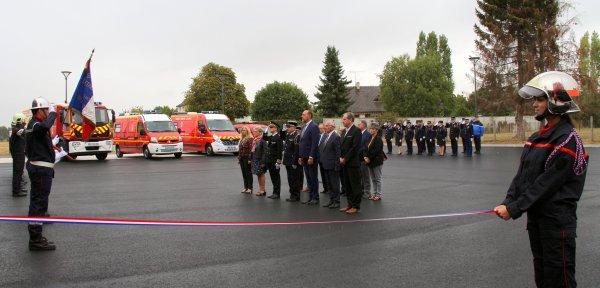 Sdis 45 - 2019: Inauguration du Cs Ccy.