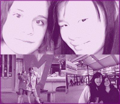Sophie et Camille (sont en Flamanie :P ) ♥