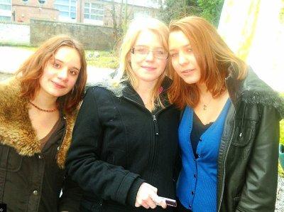 Mégane, Stéphanie et moi :-)