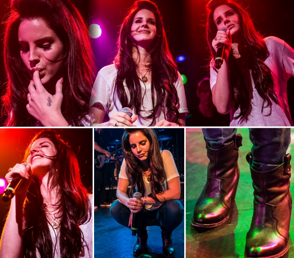 .   21 décembre 2012 - Elle a donné un concert au camp Freddy puis a donné une séance photo.  .
