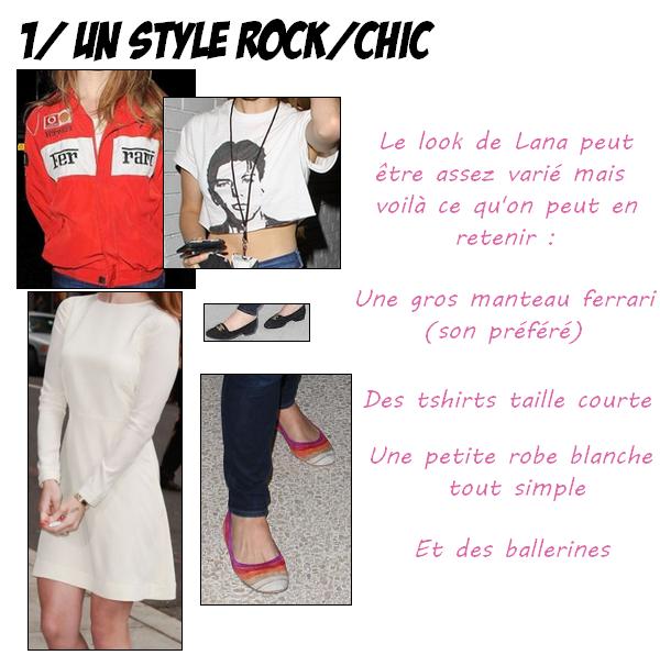 .   Lana Del Rey, c'est tout un style ! Si tu veux l'adopter suis ces conseils :   .