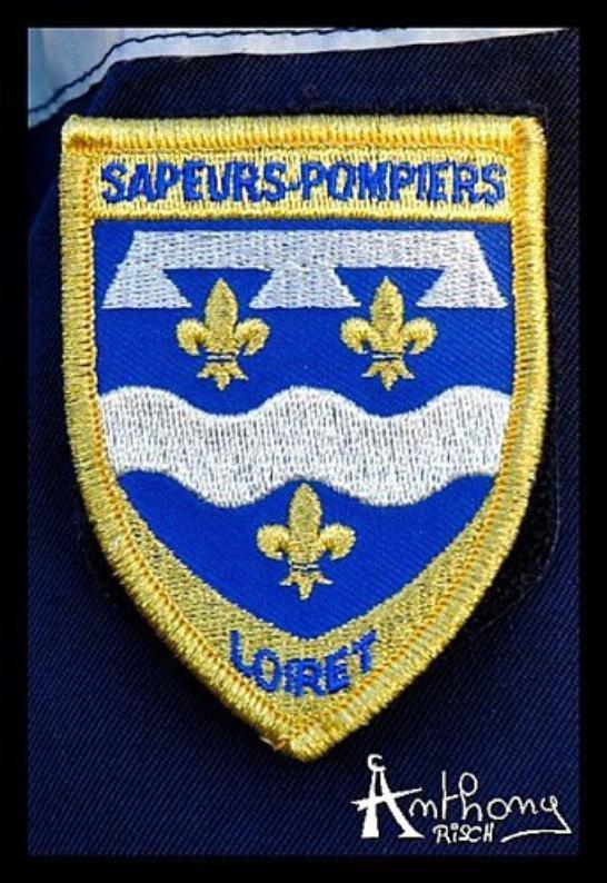 Écusson SDIS 45 (Loiret)