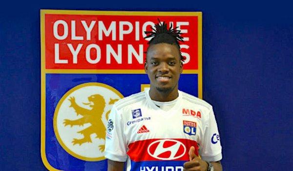 La deuxième recrue de l'Olympique Lyonnais.