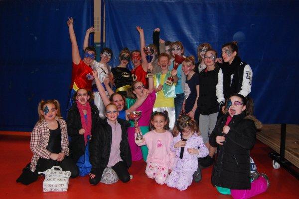 Concours de danse Provilles le 21 janvier 2012