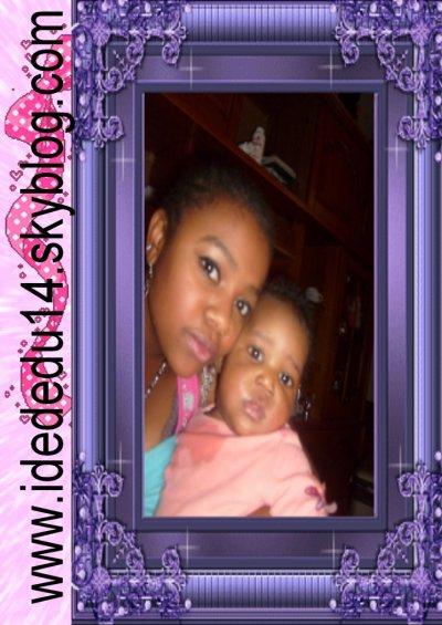 mwa et mon bébé ke j aime bcp