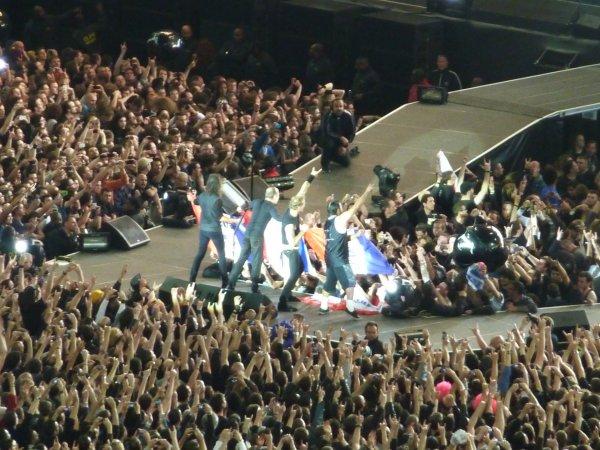 Metallica au Stade de France : Whaoo