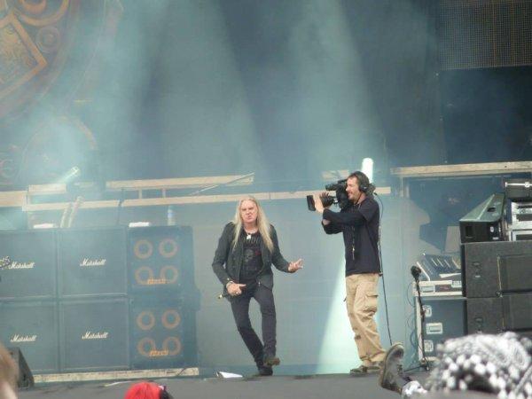 Hellfest : ambiance + Saxon + Europe