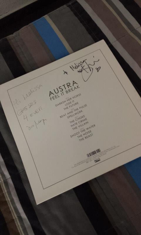 Ma rencontre avec Austra, et le concert avec Julia Holter, Clinic et Austra, bien evidemment