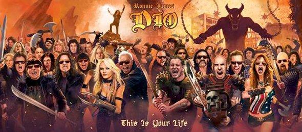 Hommage à Dio, l'album