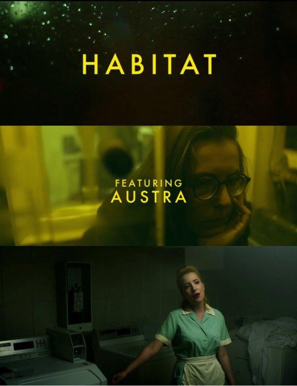 """Austra """"Habitat"""" le nouveau clip"""