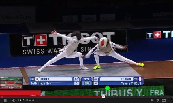 Championnats monde escrime : et de 6 !