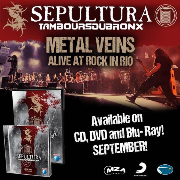 Sepultura + Tambours du Bronx, enfin le DVD / CD