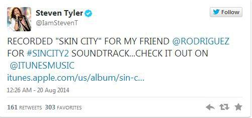 Steven Tyler, titre inédit !!