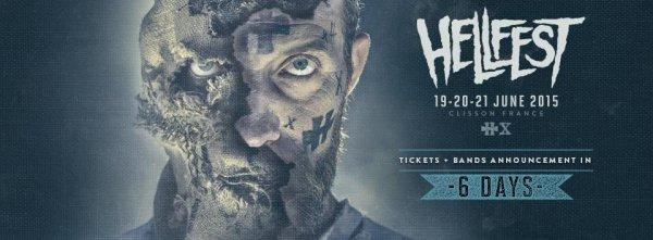 Hellfest, J-5 pour la 1ere annonce des groupes