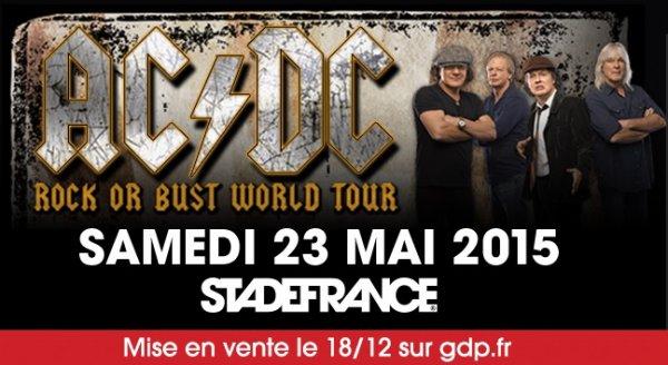 AC/DC au Stade de France, c'est officiel