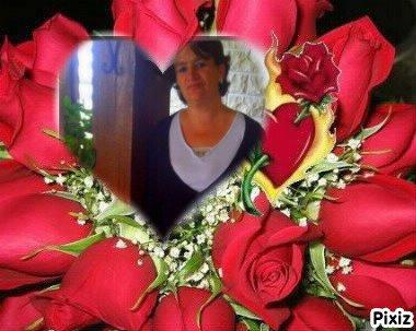 cadeaux pour toi moi amie dame de fleur du 60 bisou d'amitiè