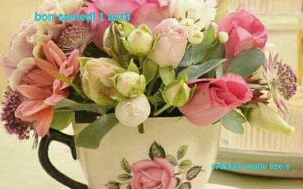 bonjour mes amies et amis bon 1 avril
