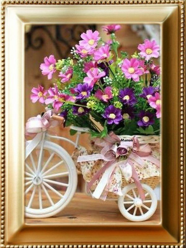 très jolie cadeaux de mon amie Manon