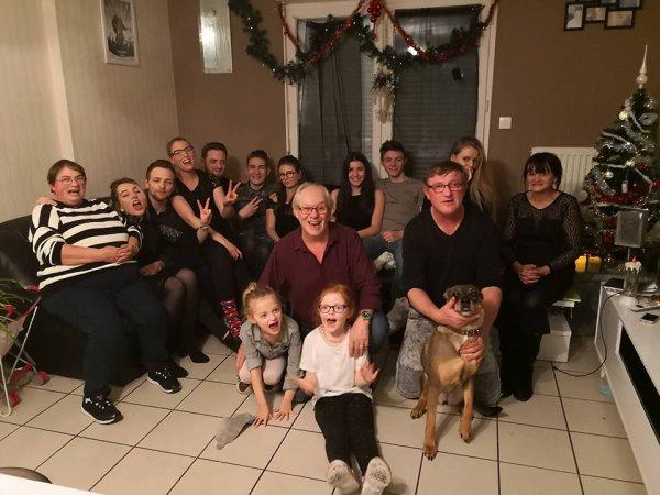 photo de famille le jour du réveillion