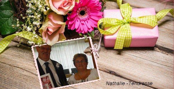 très jolie cadeaux de mon amie Nathalie .tendresse