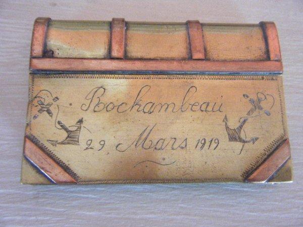 BRIQUET LIVRE ROCHAMBEAU 1919