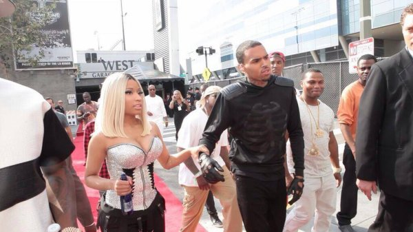 Nicki And Chris Brown !!