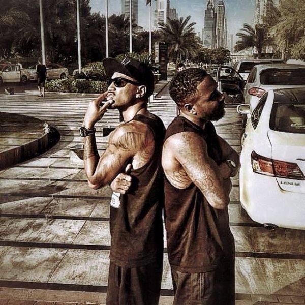 Trey And His Bro' !!