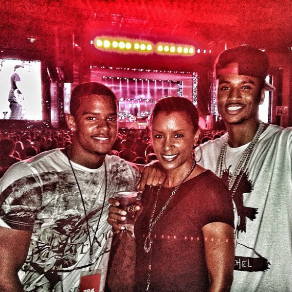 Trey And His Family !!