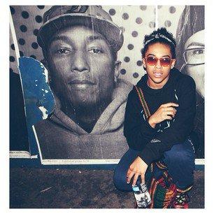 Avec Pharrell !!