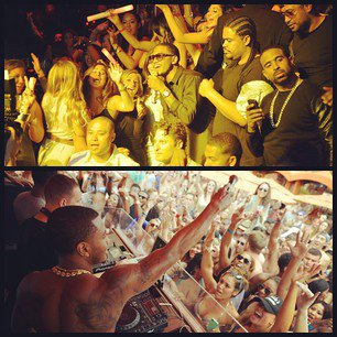 Vegas Night And Day For Trey !!