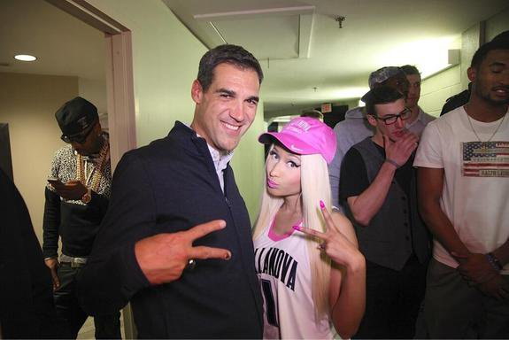 Nicki At Villanova University !!