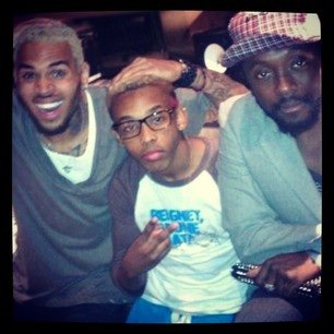 Will.I.Am, Prodigy And His Idol !!