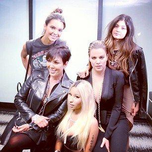 Nicki & The Kardashians !!