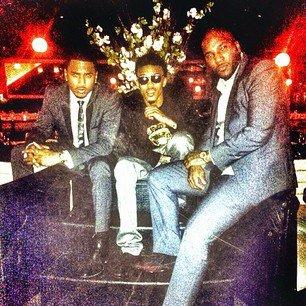 Trey Songz, August Alsina & Young Jeezy !!