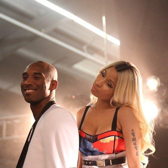 Kobe Bryant & Nicki Minaj !!