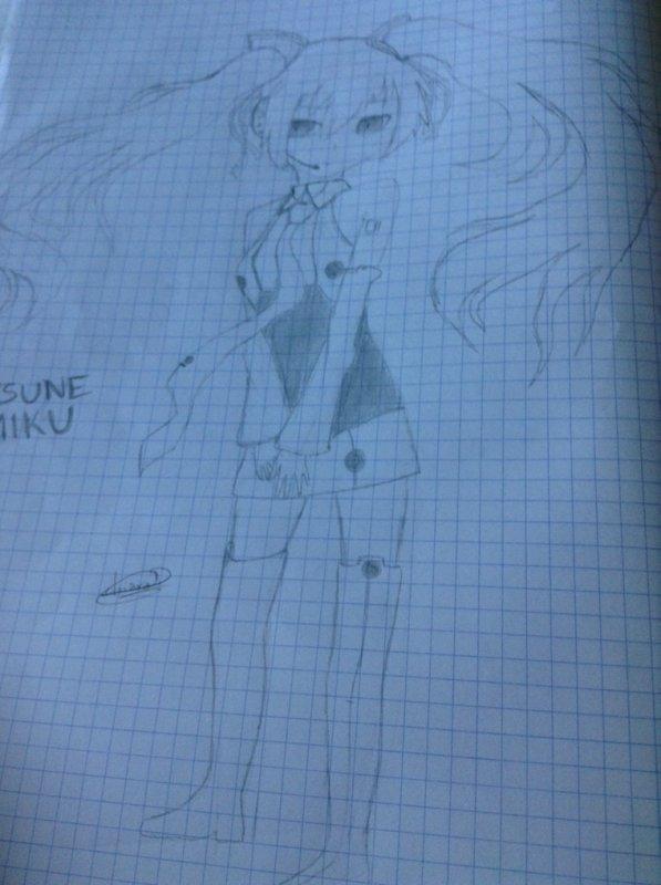 Dessin {5} (Hatsune Miku)